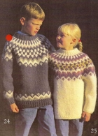 Alafoss-lopi sweater i kits fra wooltimo.dk